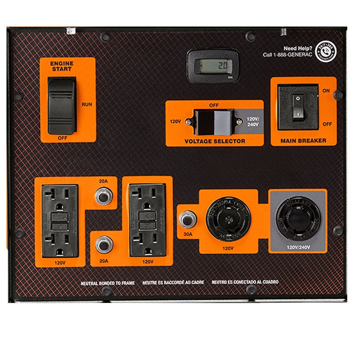 Generac 6864 connectivity