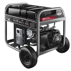 Briggs & Stratton 30608, 5500 Running Watts/6875 Starting Watts, Gas Powered Portable Generator