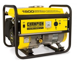 Champion Power Equipment 42436 offers 1200 Watt running power