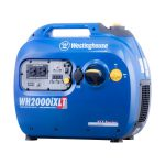Westinghouse WH2000iXLT Portable Inverter Generator offers 1800 Running Watts and 2200 Starting Watts